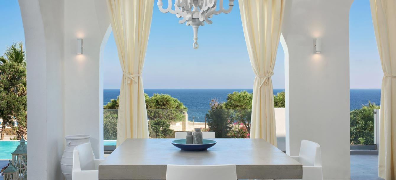 kamari santorini villa adrali exclusive luxury villa private unique santorini island villa kamari santorini villa