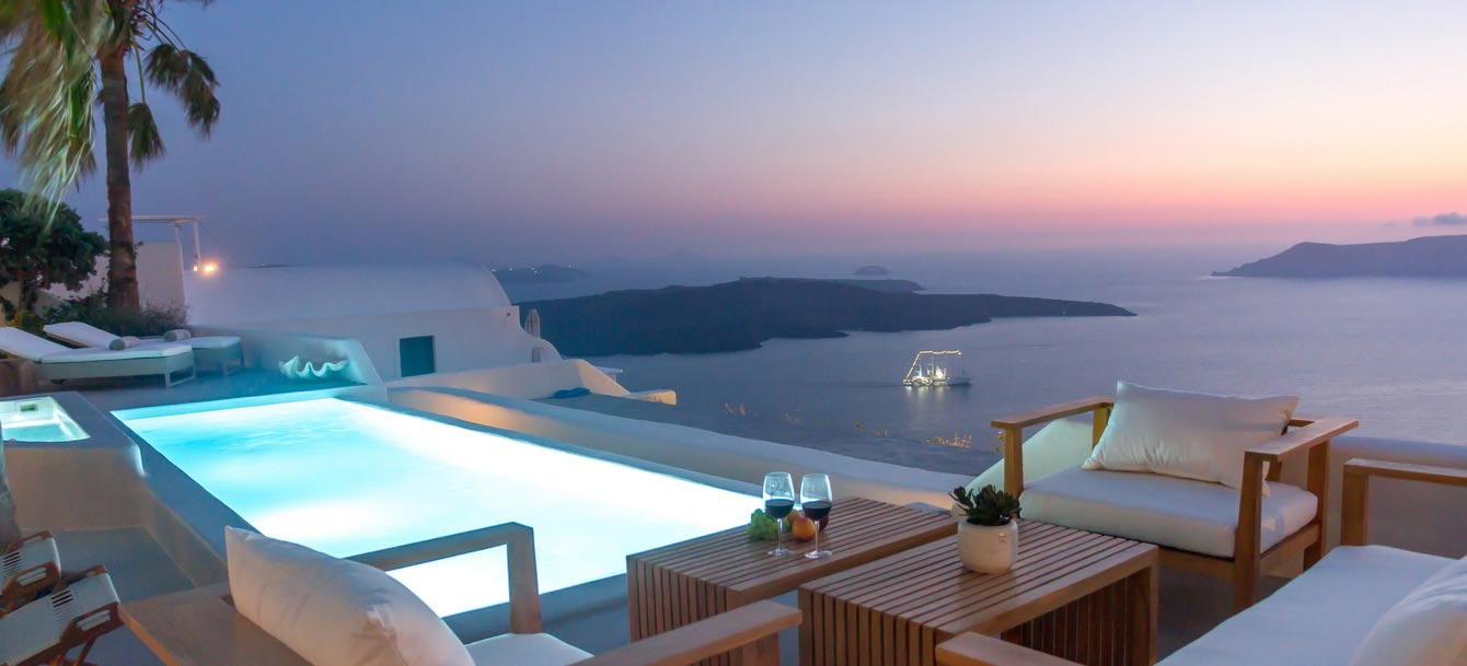 Grece Santorin Hotel Luxe